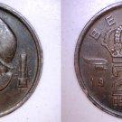 1954 Belgium 20 Centimes World Coin