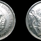 1957 (71) Spanish 5 Peseta World Coin - Spain Caudillo