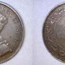 1917 Canadian 1 Large Cent World Coin - Canada