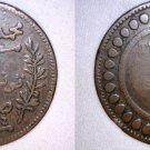 1916 Tunisian 10 Centimes World Coin - Tunisia