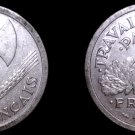 1943 French 2 Franc World Coin - France