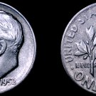 1952-S Roosevelt Dime Silver