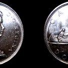 1966 Canadian Silver Dollar World Coin - Canada