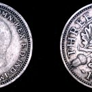 1936 Great Britain 3 Pence  World Silver Coin - UK