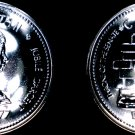 1977 PL Canadian Silver Dollar World Coin - Canada Silver Jubilee