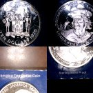 1975 Jamaican 10 Dollar Proof World Silver Coin - Jamaica Columbus