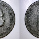 1903 Indian Quarter 1/4 Tanga World Coin - Portuguese India