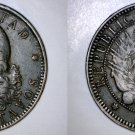 1893 Argentina 2 Centavo World Coin