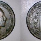 1877-OM Spanish 10 Centimos World Coin - Spain