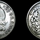 1939 Dominican 10 Centavo World Silver Coin - Dominican Republic