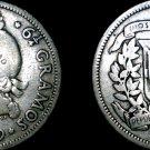 1939 Dominican 25 Centavo World Silver Coin - Dominican Republic