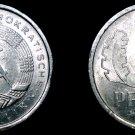 1979 A German Democratic Republic 1 Pfennig World Coin -  East Germany