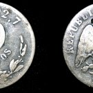 1877-Go S Mexican 10 Centavo World Silver Coin - Mexico