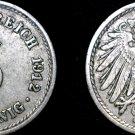 1912 A German 5 Pfennig World Coin -  Germany