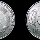 1968 A German Democratic Republic 5 Pfennig World Coin -  East Germany