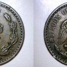 1921 Mexican 2 Centavo World Coin - Mexico