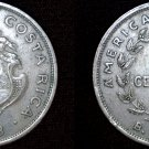 1948 Costa Rican 50 Centimos World Coin - Costa Rica