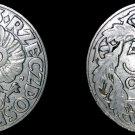 1923 Polish 50 Groszy World Coin -  Poland