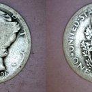 1917-P Mercury Dime Silver