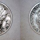 1940-D Mercury Dime Silver