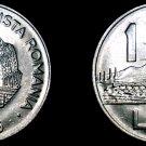 1966 Romanian 1 Leu World Coin - Romania