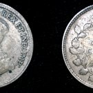 1920 Canadian Nickel 5 Cents Canada Silver Coin