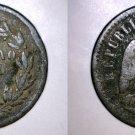 1891 Mexican 1 Centavo World Coin - Mexico