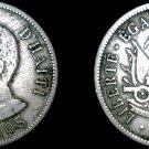 1908 Haitian 50 Centimes World Coin - Haiti