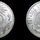 1937 Mexican 20 Centavo World Silver Coin - Mexico