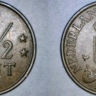 1974 Netherlands Antilles 2-1/2 Cent World Coin
