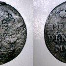 1695 German States Brandenburg 6 Pfennig World Silver Coin