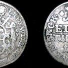 1763 German States Hildesheim 1/12th Thaler (2 Groschen) World Coin