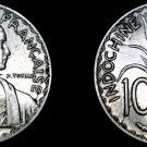 1940 French Indo-China 10 Cent World Coin - Vietnam