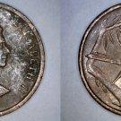 1987 Cayman Islands 1 Cent World Coin