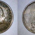1962 Netherlands 1 Cent World Coin - Bent