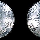 1989 10 Nuevos Pesos World Coin - Uruguay