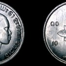 1952 Laotian 10 Cent World Coin - Laos
