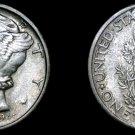 1945-S Mercury Dime Silver