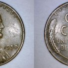 1950-P Abraham Lincoln Wheat Penny