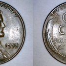 1955-P Abraham Lincoln Wheat Penny
