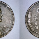 1940-P Abraham Lincoln Wheat Penny