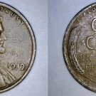 1919-P Abraham Lincoln Wheat Penny