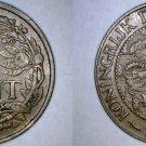 1960 Surinamese 1 Cent World Coin - Suriname