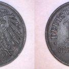 1919 German 10 Pfennig World Coin -  Germany