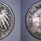 1892-D German 10 Pfennig World Coin -  Germany