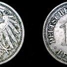 1900-F German 10 Pfennig World Coin -  Germany