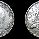 1932 Great Britain 3 Pence  World Silver Coin - UK