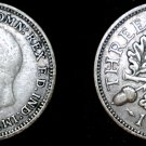 1931 Great Britain 3 Pence  World Silver Coin - UK