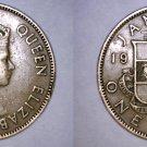 1957 Jamaican 1 Penny World Coin - Jamaica