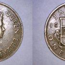 1961 Jamaican 1 Penny World Coin - Jamaica